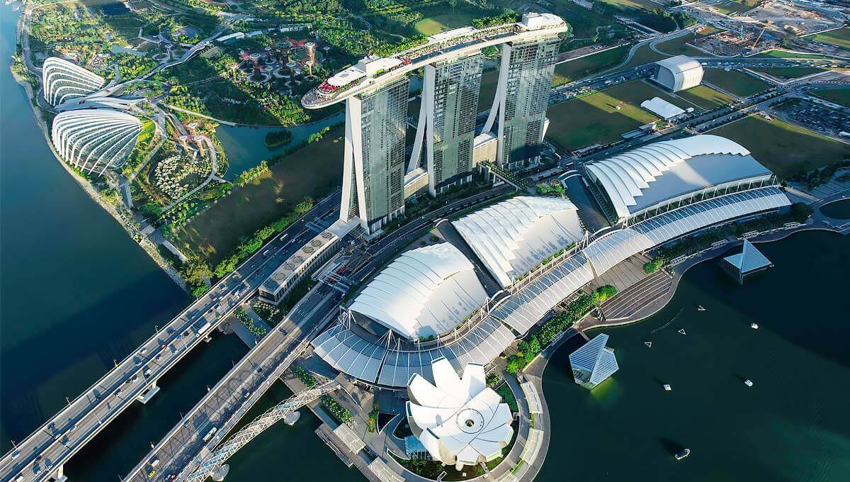 Peta Marina Bay Sands