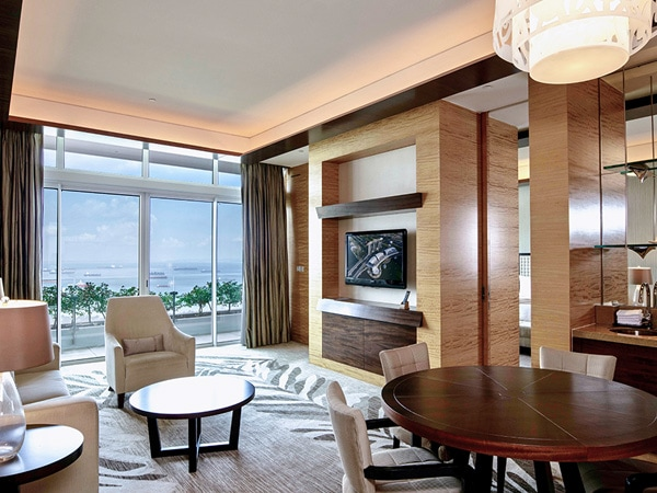 Harbour Suite Hotel Marina Bay Sands di Singapura