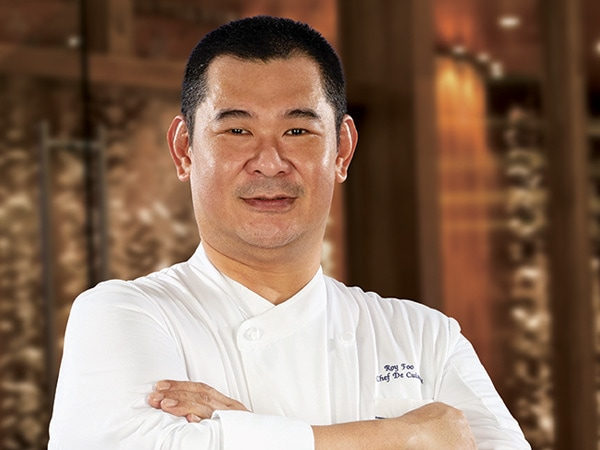 CHEF ROY FOO, CHEF DE CUISINE OF TONG DIM NOODLE BAR