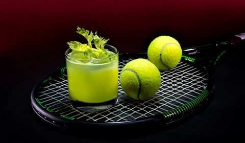 Cocktail Resmi WTA Finals Singapore - Gin Spin di Adrift