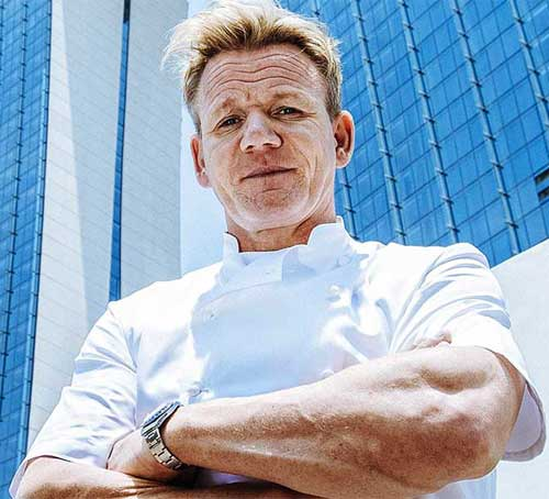 Chef Gordon Ramsey di Marina Bay Sands