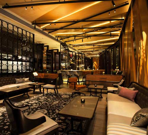 Adrift Bar and Lounge di Marina Bay Sands