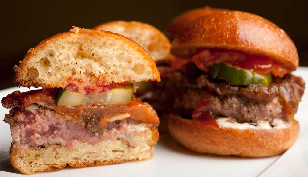 CUT Bar & Lounge - Kobe Beef Sliders