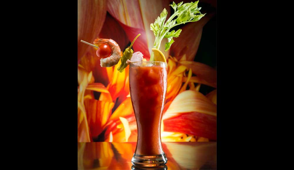 Koktail Bloody Mary di db Bistro and Oyster Bar