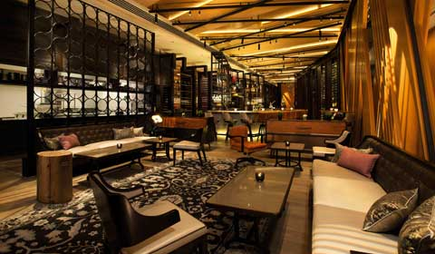 Bar Lounge di Marina Bay Sands