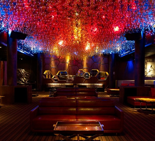 Nightlife and bars at Marina Bay Sands - Pangaea