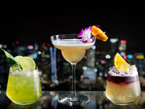 Koktail oleh Club55 di Marina Bay Sands