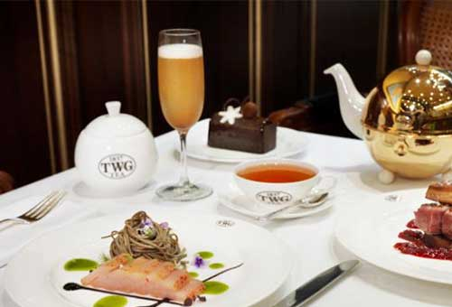 Champagne High Tea di Singapura