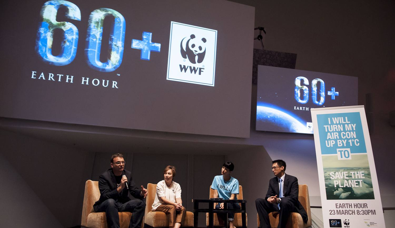 Konferensi Pers Earth Hour WWF