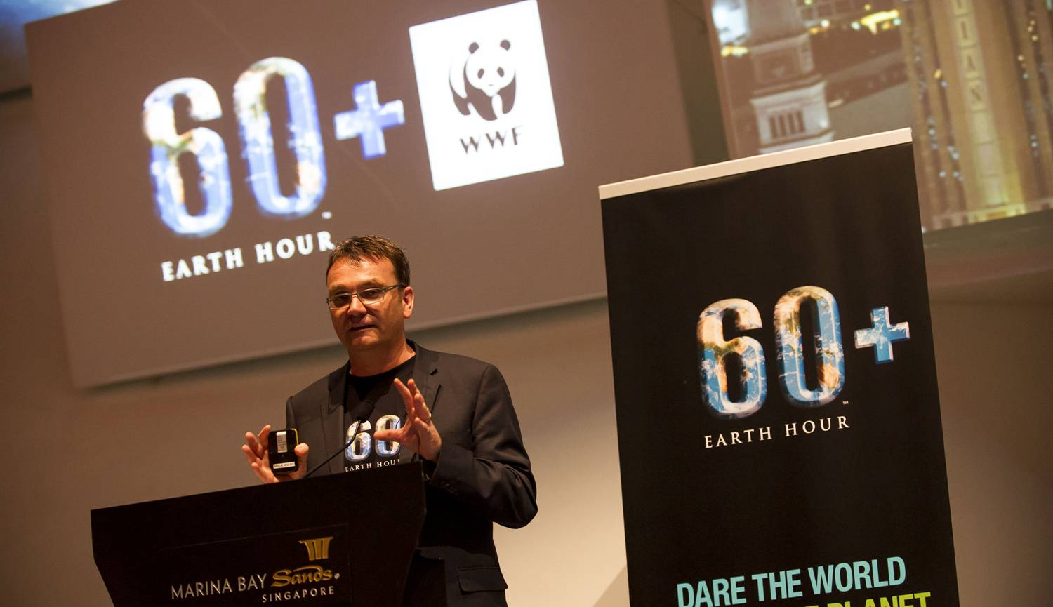 Konferensi Pers Earth Hour