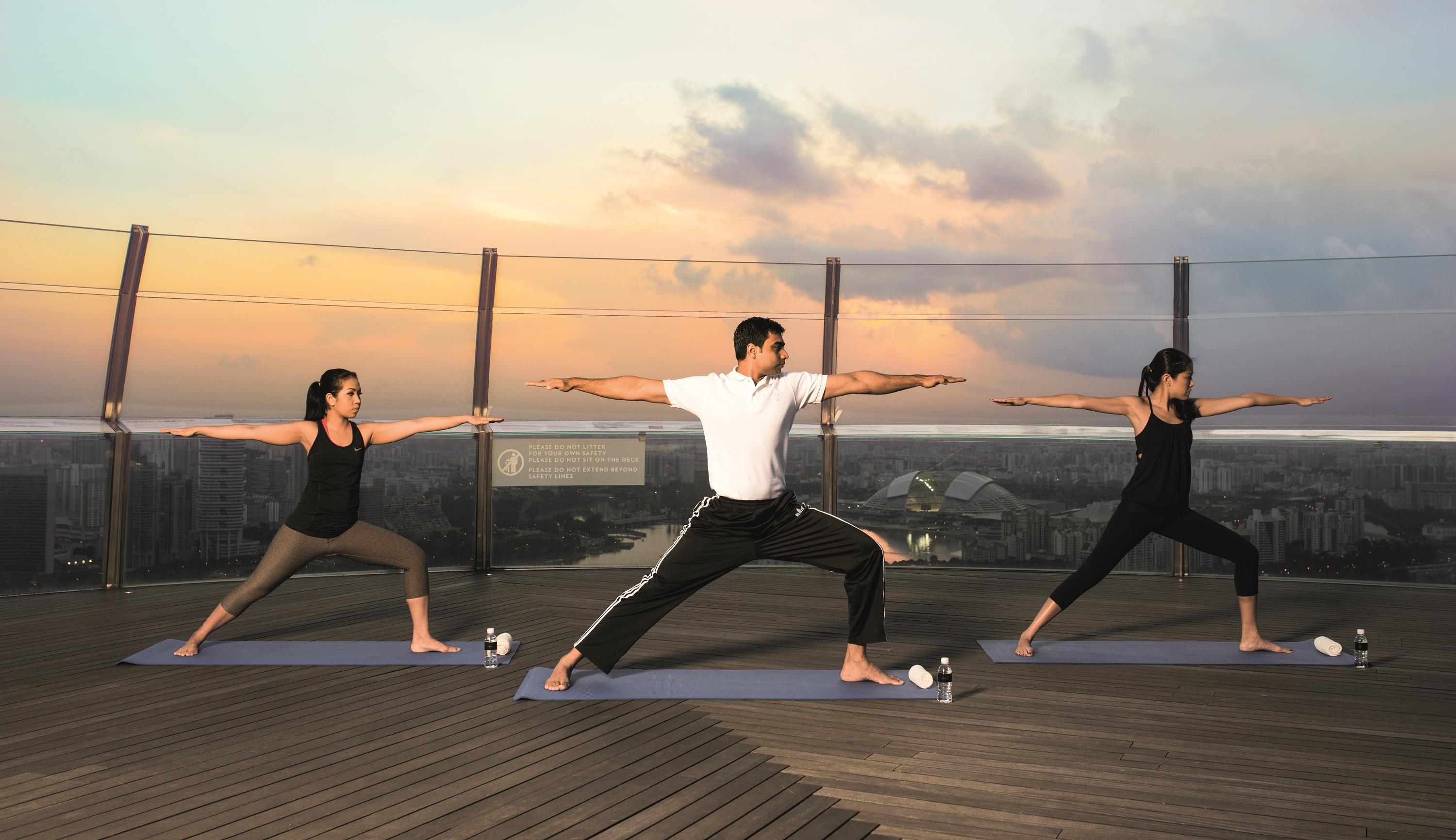 Sunrise Yoga Banyan Tree @ Marina Bay Sands