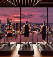 Banyan Tree Fitness Club di Marina Bay Sands