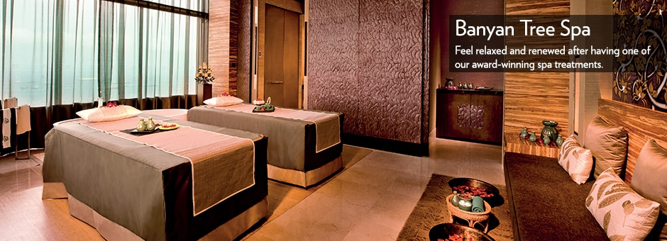 Banyan Tree Spa di Marina Bay Sands