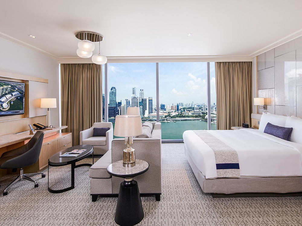 Grand Club Room Hotel Marina Bay Sands di Singapura
