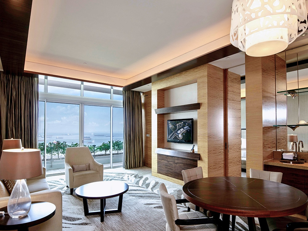 Harbour Suite of Marina Bay Sands Hotel in Singapore