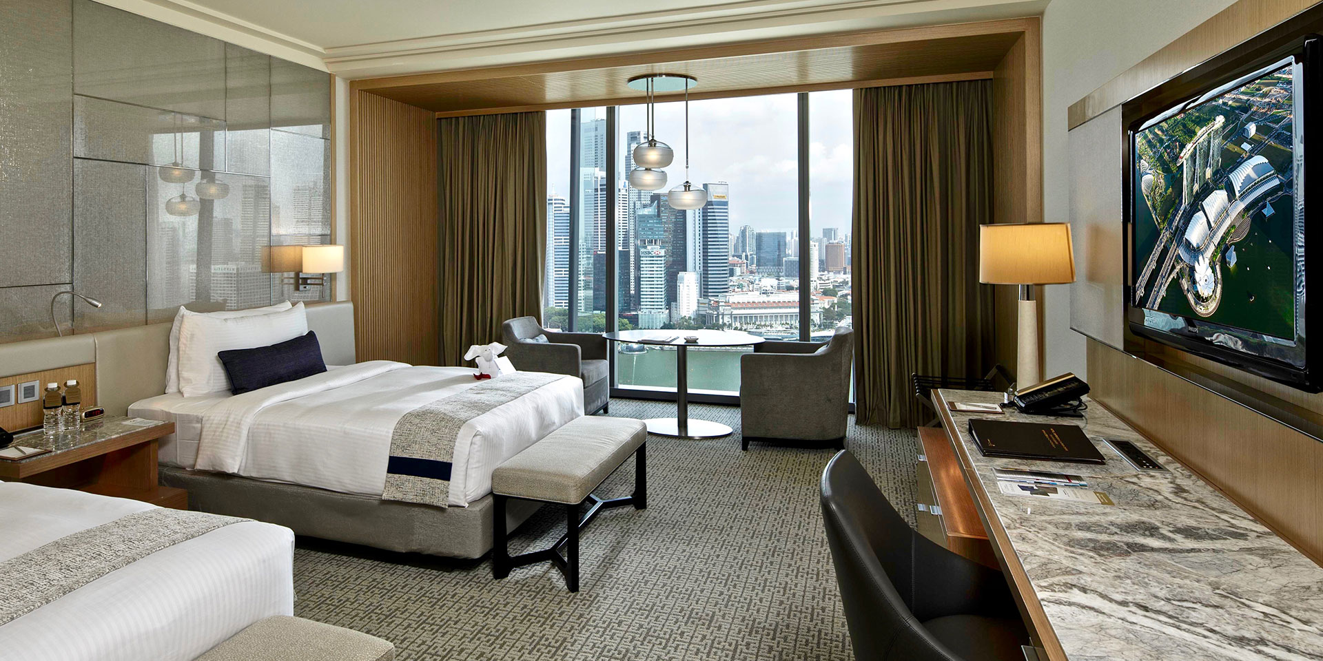 Premier Room di Marina Bay Sands