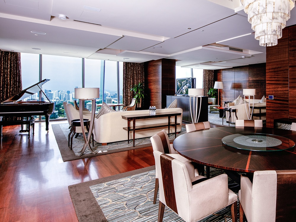Presidential Suite di Marina Bay Sands