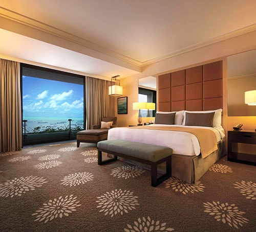Club Room di Hotel Marina Bay Sands