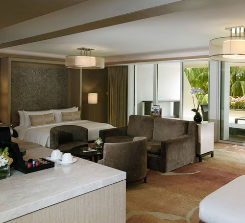 Family Room di Hotel Marina Bay Sands