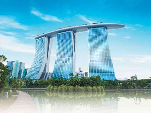 Green Meeting Berkelanjutan di Marina Bay Sands