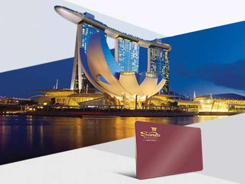 Sands Rewards Meetings di Marina Bay Sands