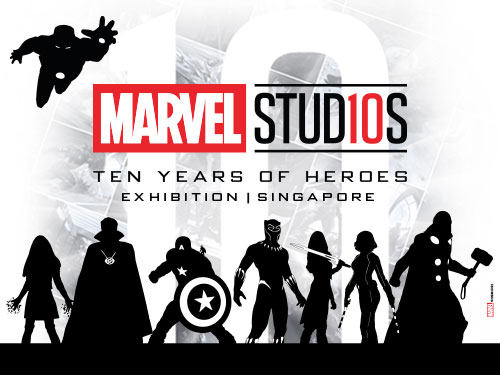 Marvel Studios: Ten Years of Heroes at Marina Bay Sands