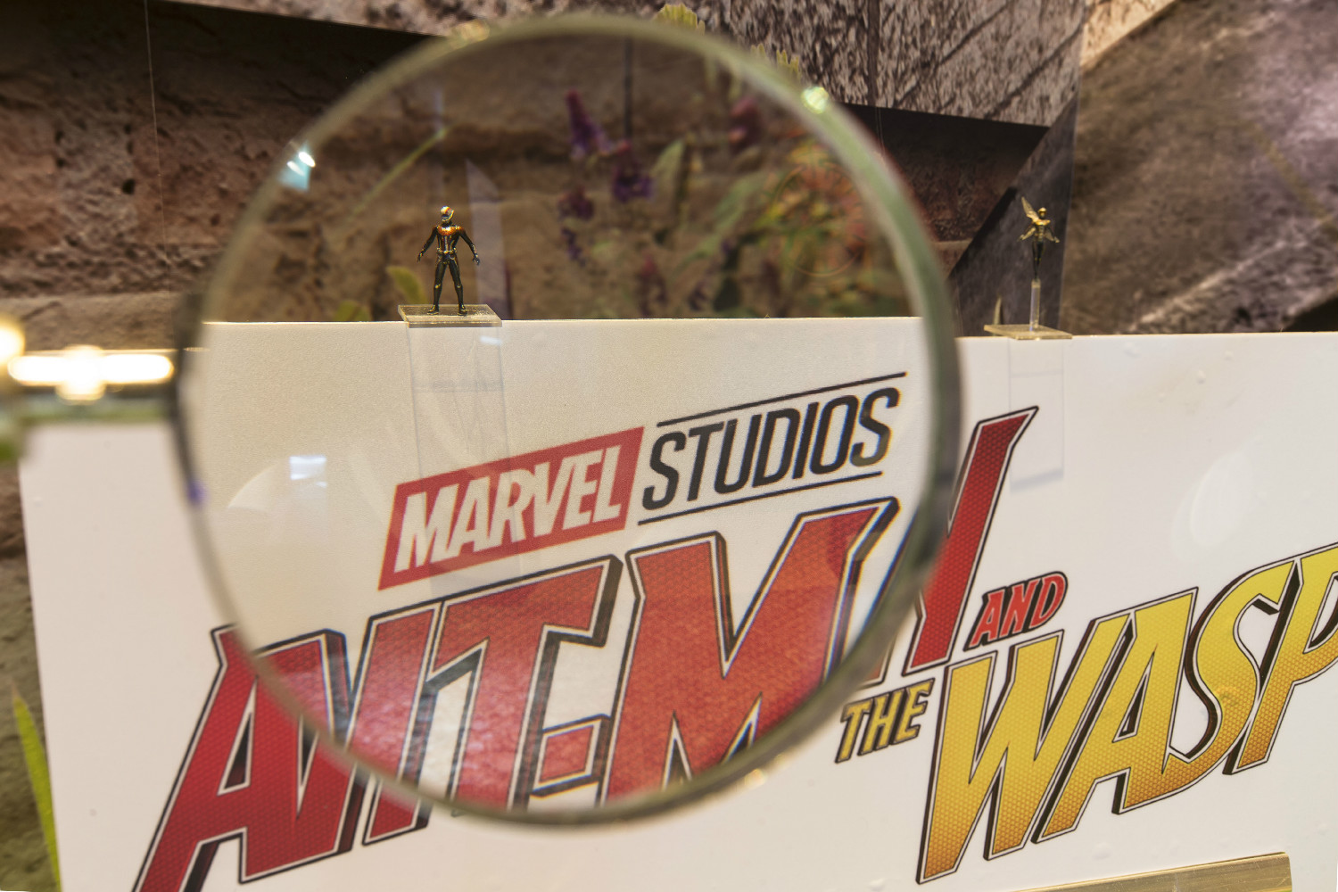 ANT-MAN AND THE WASP - Marvel Exhibition at ArtScience Museum