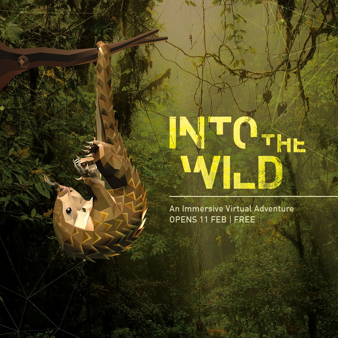 Into The Wild di Art Science Museum