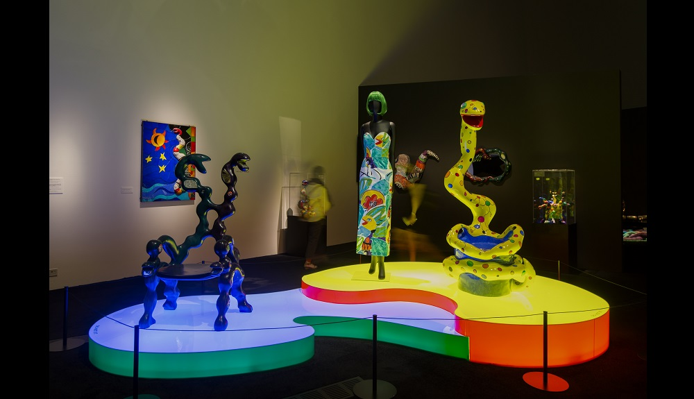 Artworks by Niki de Saint Phalle
