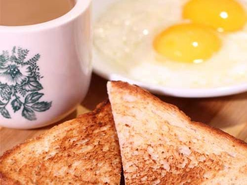 Traditional Singaporean Breakfast by Toast Box at Marina Bay Sands