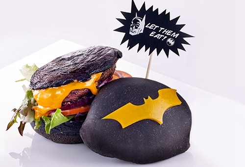 DC Comics Super Heroes Cafe di Marina Bay Sands Singapura