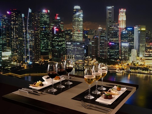Club 55 di Marina Bay Sands