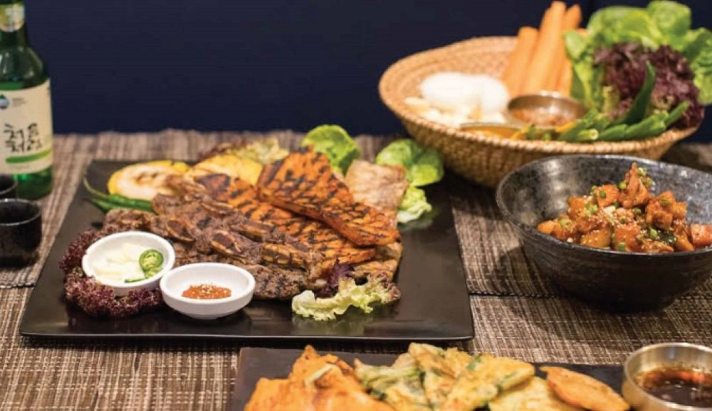 Signature Dish at Sea & Blue Buffet