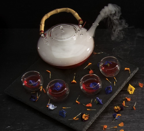 Rosella Tea at Rise at Mariana Bay Sands