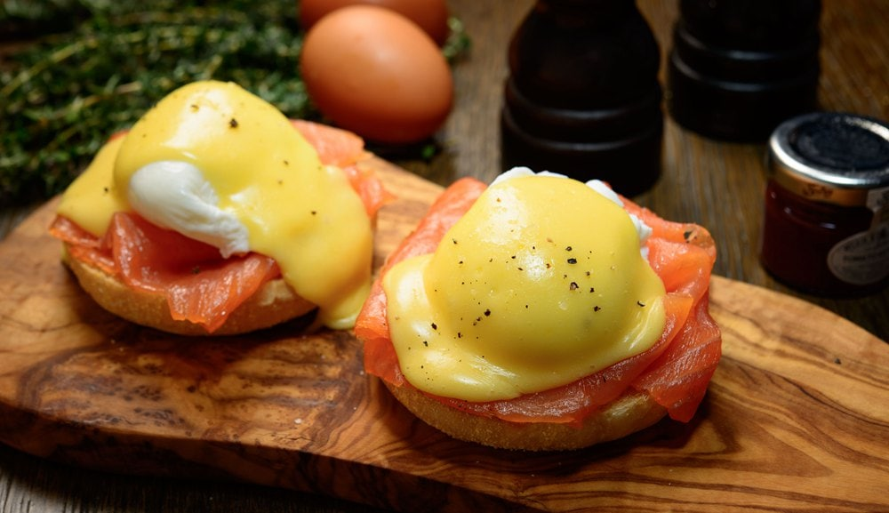 Bread Street Kitchen - Eggs Benedict