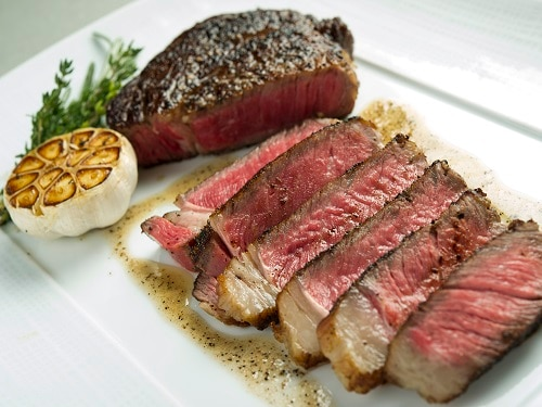 Prime Rib Eye Steak oleh CUT di Marina Bay Sands