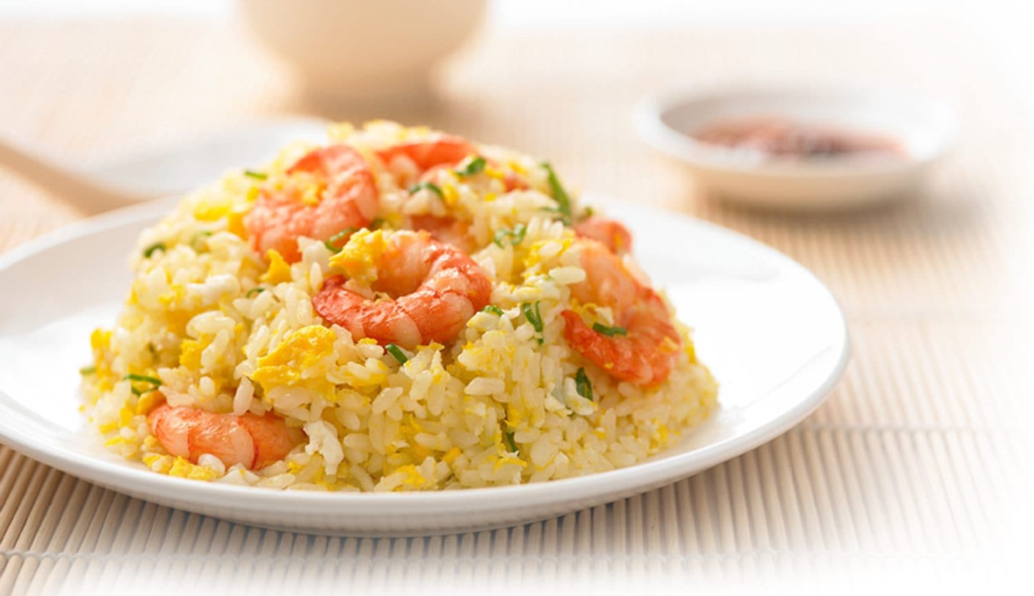 Fried Rice with Shrimp and Eggs
