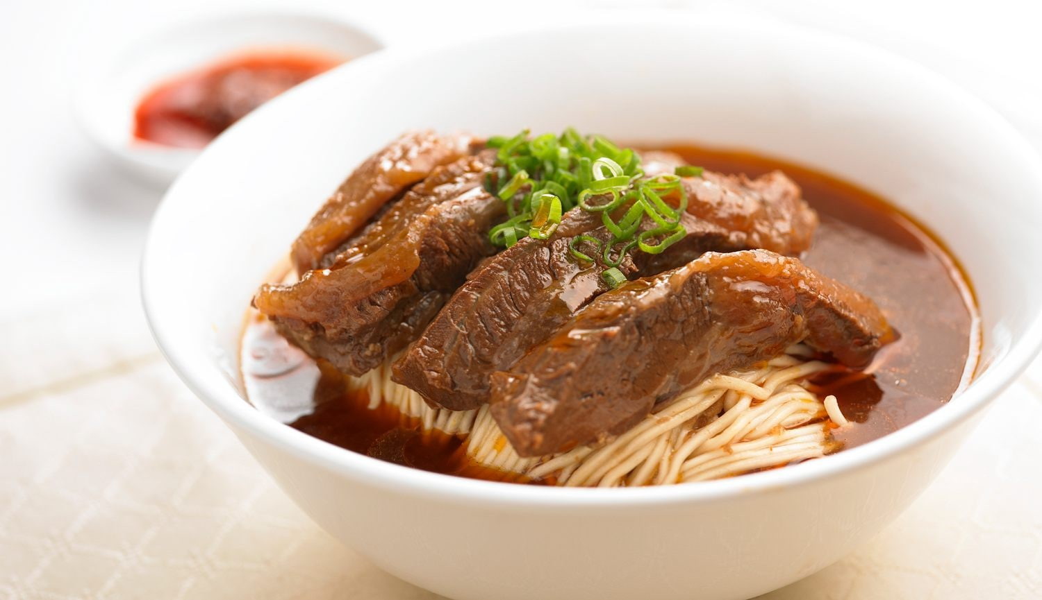 Special Braised Beef Noodle Soup with Beef Brisket