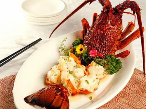 Imperial Treasure - Baked Lobster with Supreme Gravy at Marina Bay Sands