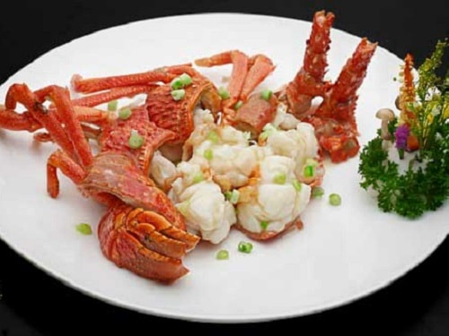 Imperial Treasure - Baked Lobster with Supreme Gravy di Marina Bay Sands