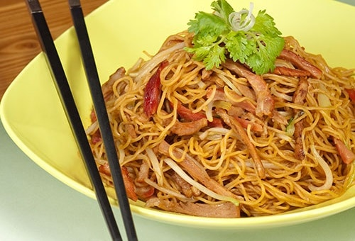 Fried Noodle di Tong Dim Noodle Bar