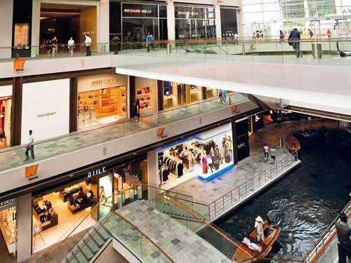The Shoppes di Marina Bay Sands