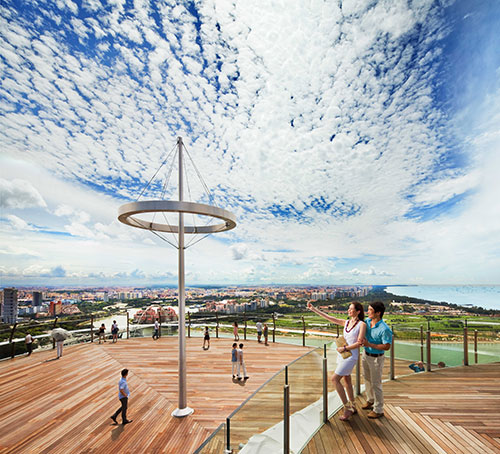 SkyPark Observation Deck