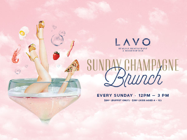 LAVO Sunday Funday Champagne Brunch Gift
