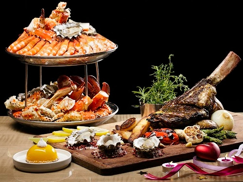 Marinabaysands Buffet - RISE Restaurant