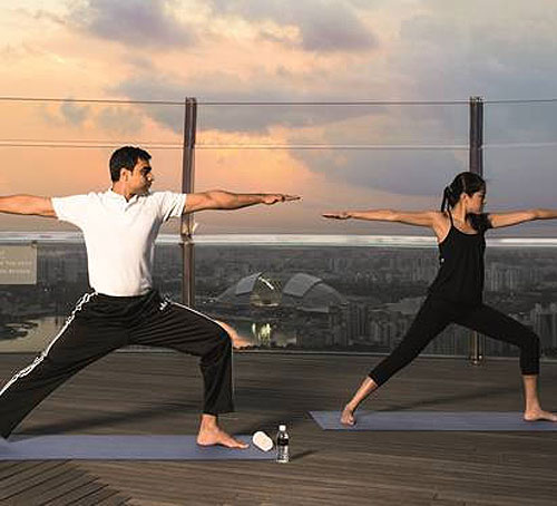 Keistimewaan Banyan Tree Fitness Club di Marina Bay Sands