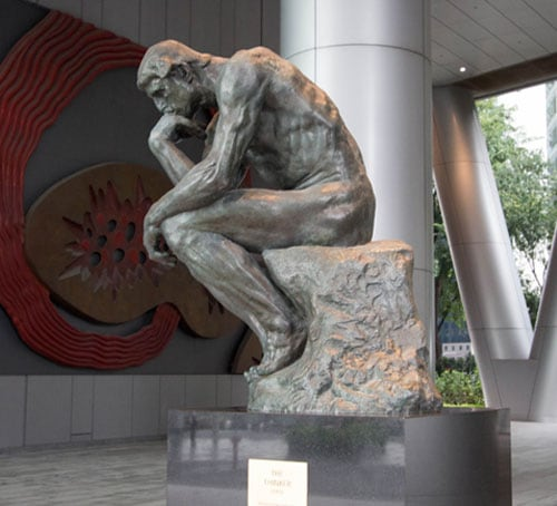 Rodin - The Thinker Sculpture