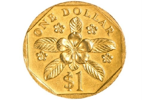 Gambar Uang Koin Singapura Mata Uang Singapore