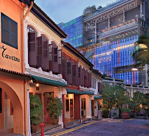Teras Emerald Hill dekat Orchard Road