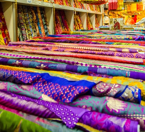 Fabric store in Singapore